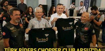 TÜRK RİDERS CHOPPER CLUB ARSUZ'DA