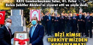 BİZİ KİMSE TÜRKİYE'MİZDEN KOPARTAMAZ!